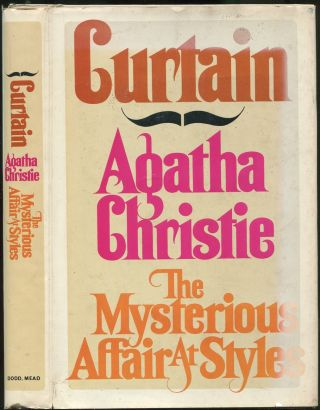 Curtain & The Mysterious Affair at Styles. Agatha CHRISTIE