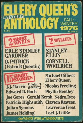 Fall-Winter 1976: Ellery Queen's Mystery Anthology. Ellery QUEEN, Q. Patrick Erle Stanley...
