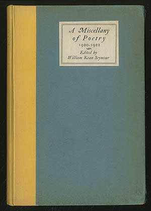 A Miscellany of Poetry 1920-1922
