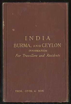 India, Burma and Ceylon: Information for Travellers and Residents