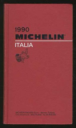Cover title]: 1990 Michelin: Italia