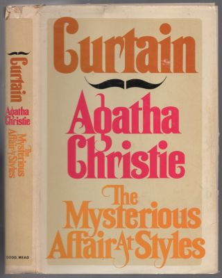 CURTAIN and THE MYSTERIOUS AFFAIR at STYLES. Agatha CHRISTIE