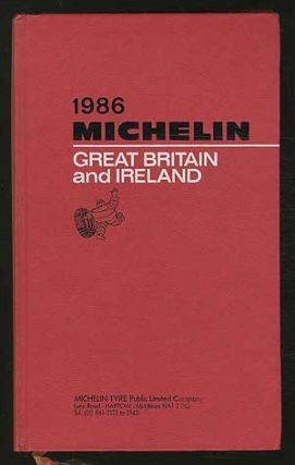 Cover title]: 1986 Michelin: Great Britain and Ireland