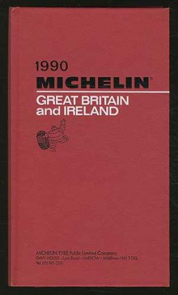 Cover title]: 1990 Michelin: Great Britain and Ireland