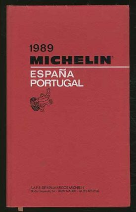 Cover title]: 1989 Michelin: España Portugal