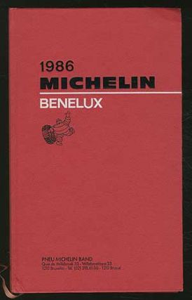 Cover title]: 1986 Michelin: Benelux