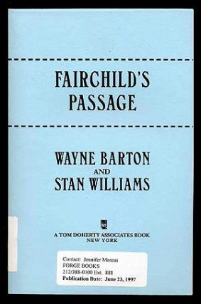 Fairchild's Passage. Wayne BARTON, Stan Williams