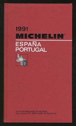 Cover title]: Michelin España Portugal