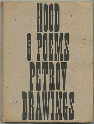 [Cover title]: Hood 6 Poems Petrov Drawings