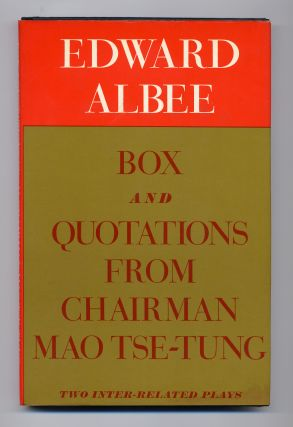 Box and Quotations From Chairman Mao Tse-Tung. Edward ALBEE