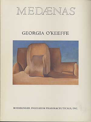 medaenas georgia okeeffe one of a series of monographs on the arts produced by boehringer ingelheim pharmaceuticals inc ridgefield connecticut
