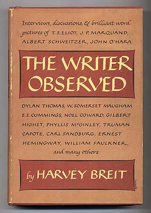 The Writer Observed