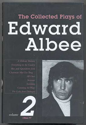 The Collected Plays of Edward Albee: Volume 2, 1966-77. Edward ALBEE