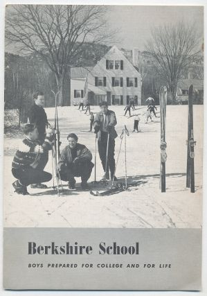 Berkshire School: Boys Prepared for College and For Life