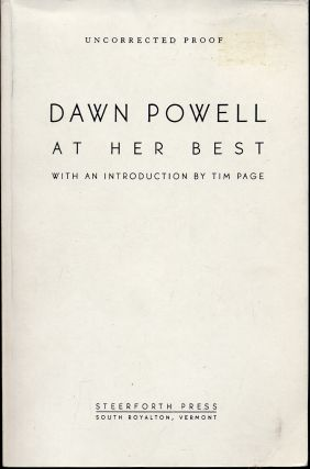 Dawn Powell at Her Best. Dawn POWELL