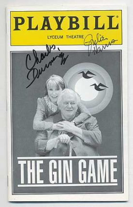 Playbill]: The Gin Game