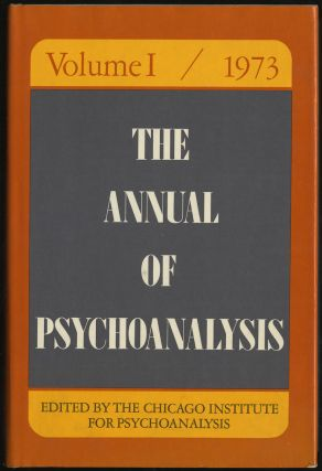 THE ANNUAL OF PSYchOANALYSIS. JOHN AND GEDO