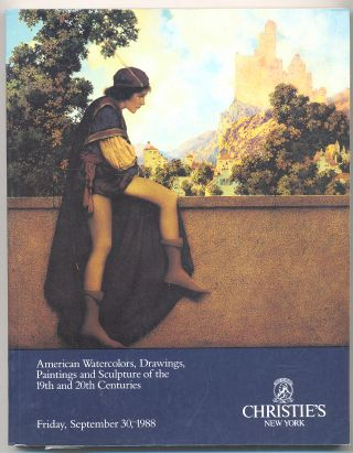American Watercolors, Drawings, Paintings and Sculpture of the 19th and 20th Centuries