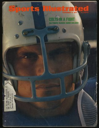 Sports Illustrated November 8, 1971