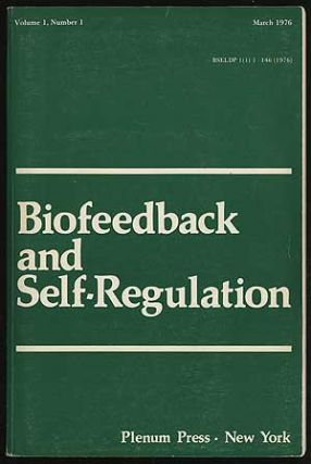 Biofeedback and Self-Regulation