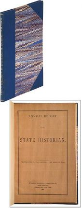 Annual Report of the State Historian