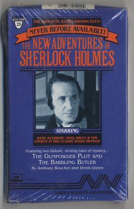 The New Adventures of Sherlock Holmes: The Gunpowder Plot and The Babbling Butler Cassette of the...