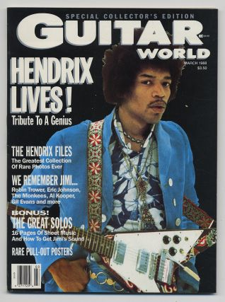 Guitar World Special Collector's Edition Hendrix Lives