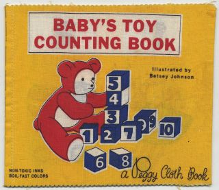 Baby's Toy Counting Book: A Peggy Cloth Book