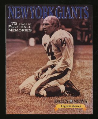 New York Giants: 75 Years of Football Memories
