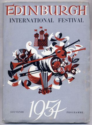 Edinburgh International Festival of Music and Drama 1954 Souvenir Programme