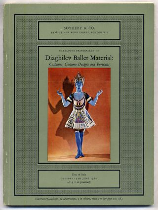 Catalogue Principally of Daighilev Ballet Material: Costumes, Costume Designs and Portraits