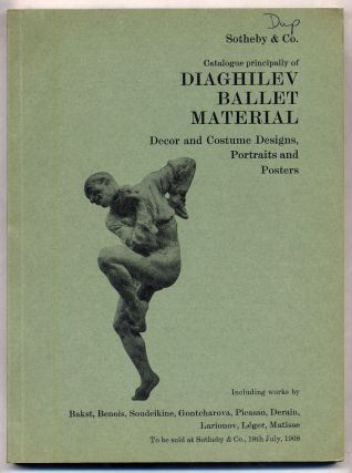 Catalogue Principally of Daighilev Ballet Material: Decor and Costume Designs, Portraits and Posters