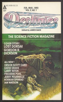Destinies: February-March, 1980, Vol. 2, No. 1. James BAEN