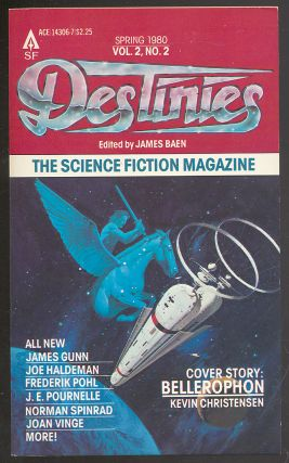 Destinies: Spring 1980, Vol. 2, No. 2. James BAEN