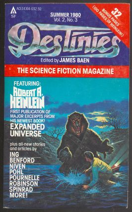 Destinies: Summer 1980, Vol. 2, No. 3. James BAEN