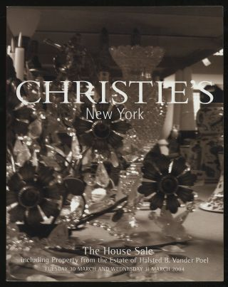 Christie's New York: The House Sale including property from the Estate of Halsted B. Vander Poel,...