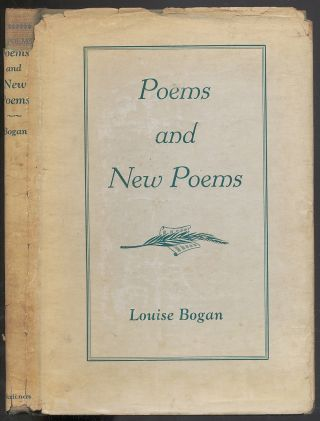 Poems and New Poems