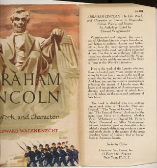 Abraham Lincoln His Life, Work and Character