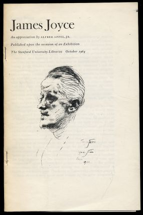 James Joyce: An Appreciation. Alfred APPEL, Jr, James Joyce