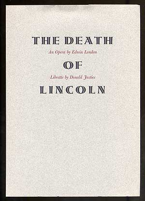 The Death of Lincoln: An Opera