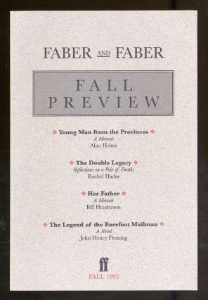 Faber and Faber Fall Preview