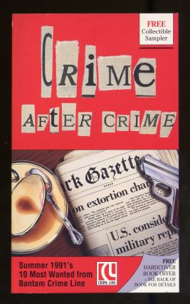 Crime After Crime: Summer 1991's 10 Most Wanted From Bantam Crime Line