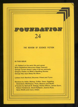 Foundation The Review of Science FictionNumber 24 February 1982