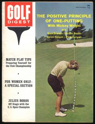 Golf Digest Volume 14 Number 9 September 1963