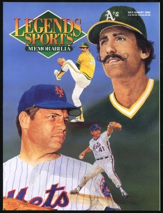 Legends Sports Memorabilia: July/August 1992, Volume 5, Number 4