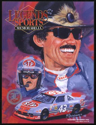 Legends Sports Memorabilia: November/December 1993, Volume 6, Number 6