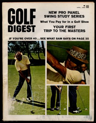 Golf Digest Volume 19 Number 4 April 1968