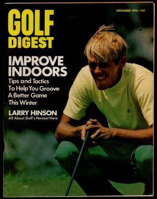 Golf Digest Volume 21 Number 12 December 1970