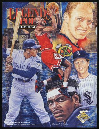 Legends Sports Memorabilia Volume 6 Number 4 July/August 1993 Limited Gold Edition