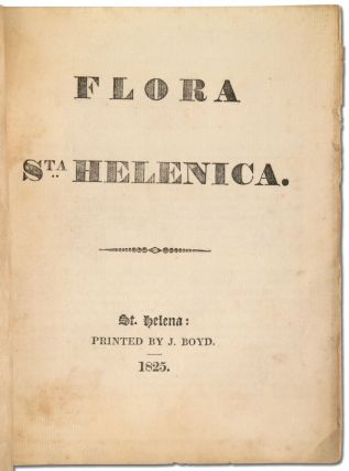 No. 3. Proceedings of the Agricultural and Horticultural Society of St. Helena